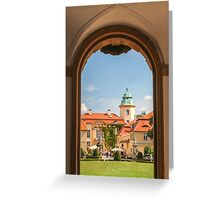 Ksiaz Castle,Poland Greeting Card