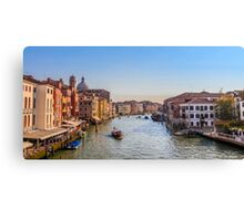 Venice city of canals Canvas Print