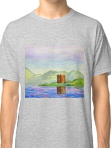 scottish castle  Classic T-Shirt