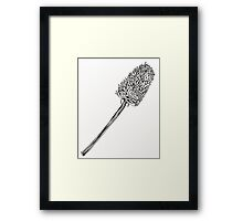 Teasle Illustration Framed Print