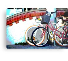 Byron bicycles.... Metal Print