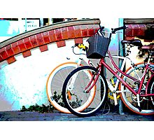Byron bicycles.... Photographic Print