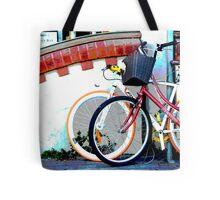 Byron bicycles.... Tote Bag