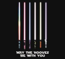 May the Hooves be with you Kids Clothes