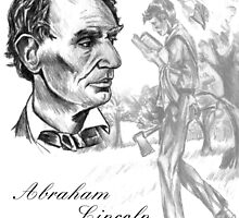 Abraham Lincoln  by AaronGuthrie