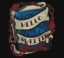 Hello Sweetie (T-shirt) by Ameda Nowlin