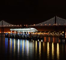A Quiet Night On The Embarcadero by Revive The Light Photography