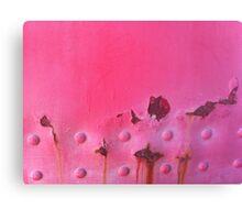 Dr. Pink Canvas Print