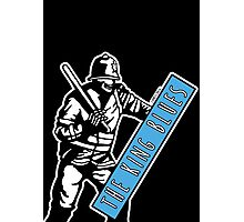 Riot Police King Blues Photographic Print