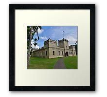 'Iolani Barracks Framed Print