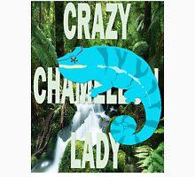 Crazy Chameleon Lady Unisex T-Shirt
