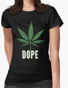 Dope Tee Womens Fitted T-Shirt