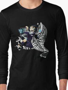 Zebra Rocket Launcher Long Sleeve T-Shirt