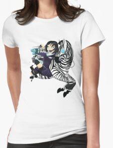 Zebra Rocket Launcher Womens Fitted T-Shirt