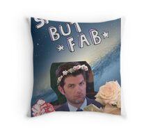 Sad but Fab Throw Pillow