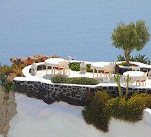 Hideaway on Santorini by Carole-Anne