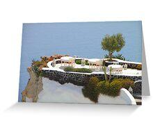 Hideaway on Santorini Greeting Card