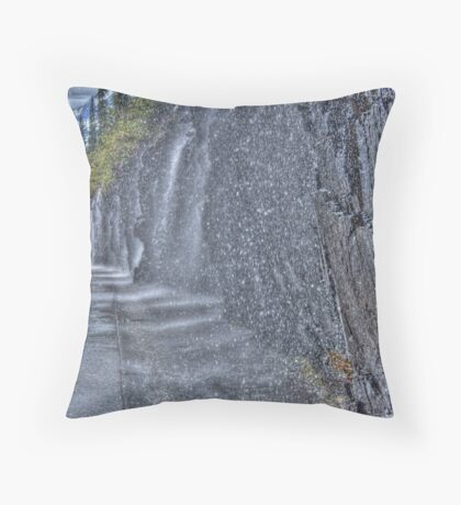 Weeping Wall - Digital Art Throw Pillow