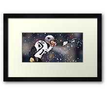 Tom Brady Together We Make Football Print Framed Print