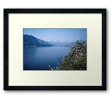 Como towards Bellagio Italy 19840424 0054m Framed Print