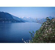 Como towards Bellagio Italy 19840424 0054m Photographic Print