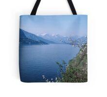 Como towards Bellagio Italy 19840424 0054m Tote Bag
