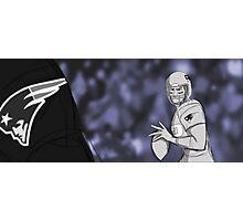 Tom Brady Storyboard Photographic Print