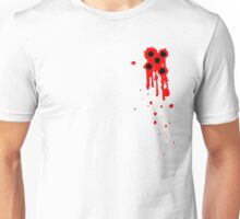 Bullet Wounds with Good Grouping Unisex T-Shirt