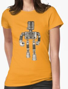 Adopt-A-Bot  Robot #2 Womens Fitted T-Shirt