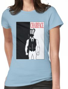 The Tick chairface scarface Womens Fitted T-Shirt