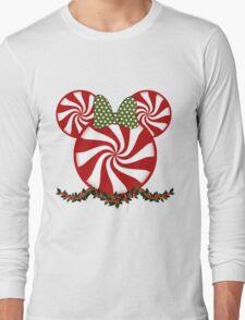 Peppermint Minnie Long Sleeve T-Shirt