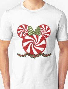 Peppermint Minnie Unisex T-Shirt