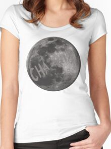 CHa moon the tick Women's Fitted Scoop T-Shirt