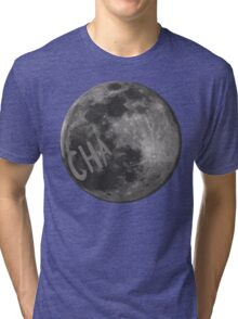 CHa moon the tick Tri-blend T-Shirt