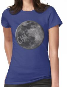 CHa moon the tick Womens Fitted T-Shirt