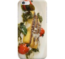 Baked Polenta with Roasted Tomatoes iPhone Case/Skin