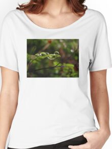 Frog Droplets Women's Relaxed Fit T-Shirt