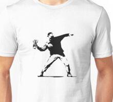 Banksy Molotov Money Unisex T-Shirt