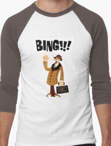 BING!!!-1 Men's Baseball ¾ T-Shirt