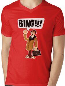 BING!!!-1 Mens V-Neck T-Shirt