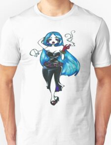 Blue Hair Unisex T-Shirt