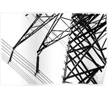 Hydro Lines Poster