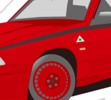 Alfaromeo 75 evolution Sticker