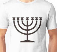 Menorah Unisex T-Shirt