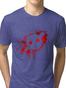 Knife Party - Blood Logo Tri-blend T-Shirt