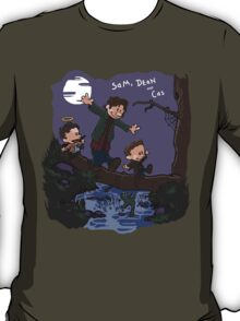 Sam, Dean, and Cas T-Shirt