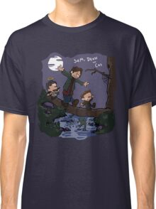 Sam, Dean, and Cas Classic T-Shirt