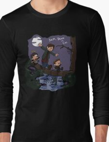 Sam, Dean, and Cas Long Sleeve T-Shirt