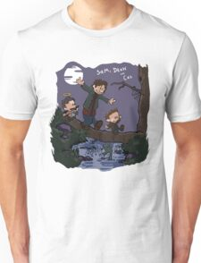 Sam, Dean, and Cas Unisex T-Shirt