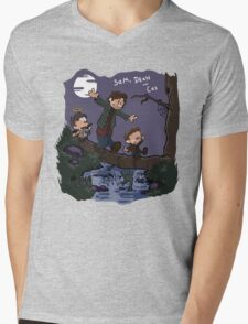 Sam, Dean, and Cas Mens V-Neck T-Shirt